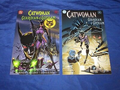Catwoman Guardian Of Gotham (1999) #1 & 2 1st Prints Elseworlds Moench Balent NM