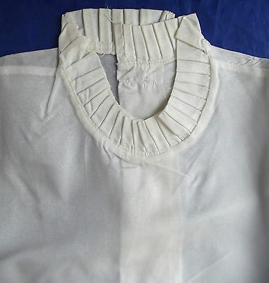 "Vintage 1950s ladies blouse UNUSED short sleeve 38"" bust WHITE Size 14"