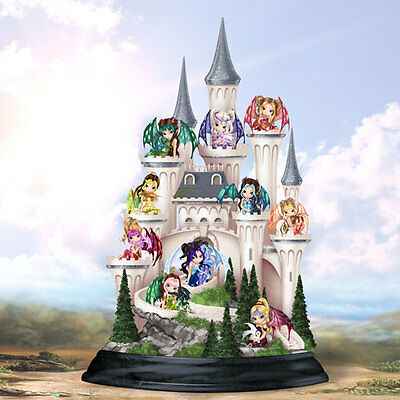 Castle of Dragons Set - Dragonling Fairies  -Jasmine Becket Griffith