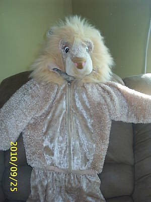 2 Pc Halloween Tan Lion Costume Boy/Girl  24 Months by Celebration Zip Jacket