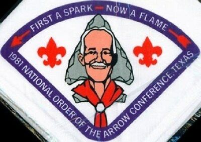 BSA NOAC 1981 n/c national conference neckerchief