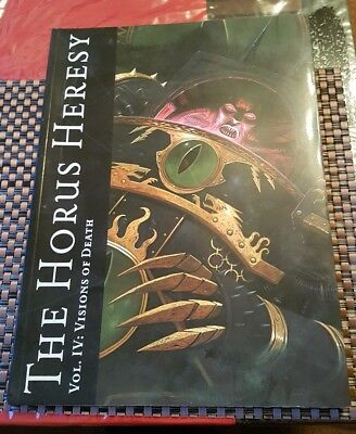 The Horus Heresy VOL 4 Visions Of Death Soft Back Book NEW