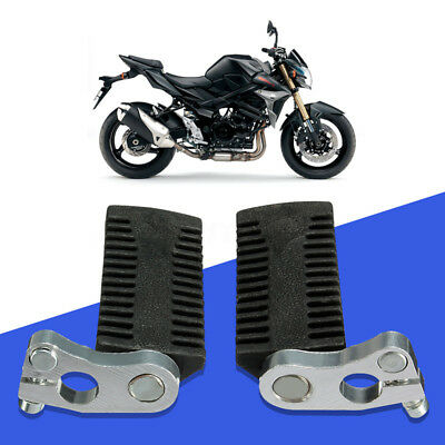 Pair Foot Peg Rests Footrest For 47 49 50cc Chinese Mini Moto Pocket Bike Black