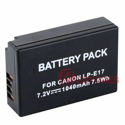LP-E17 1040mAh 7.2V Replacement Battery For Canon EOS M3 760D 750D 77D Camera