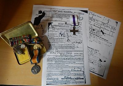 WW1 Medals Research - Military Service Research