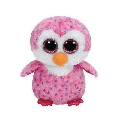 Ty Beanie Boo - Pink Glider the Penguin Soft Plush Cuddly Collectible Toy Animal