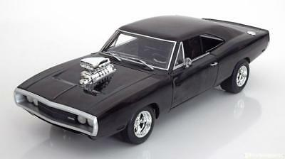 1:18 Hot Wheels Dodge Charger RT Fast & Furious 1970 black