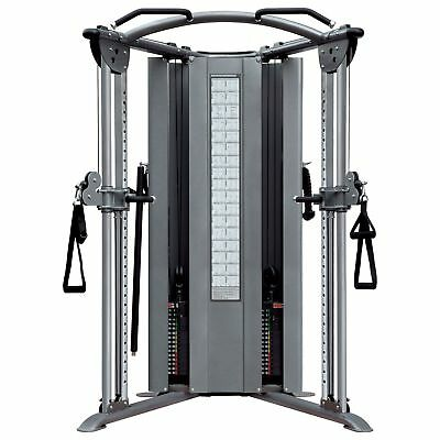 Impulse Fitness Functional Trainer Cable Cross Over Dual Pulley Heavy Duty NEW