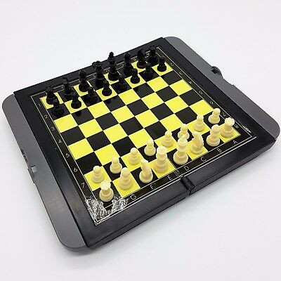 Magnetic CHESS SET Travel Games 3D Pieces New Boxed
