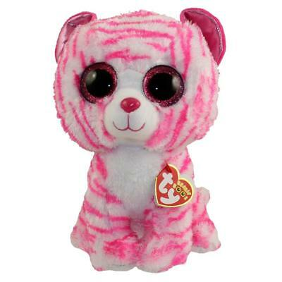 Ty Beanie Boo Asia the Tiger Soft Plush Cuddly Collectible Animal Toy