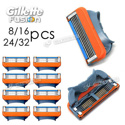 Gillette Mach3 Replacement FUSION Razor Blades 16 / 24 / 32 / 48 Pack UK Seller