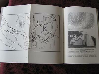 Historic EDENTON & Chowan County Guide Book 1984 Edition N CAROLINA Foldout Map