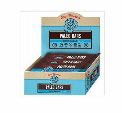 12 x 45g Bar  BLUE DINOSAUR Dark Cacao Paleo Bars