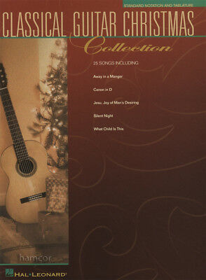 Classical Guitar Christmas Collection TAB Music Book