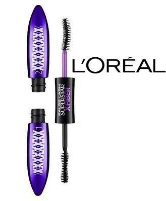 L'oreal False Lash Superstar X Fiber Mascara # Extreme Black **brand New**