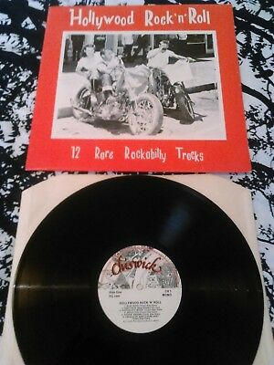 Various - Hollywood Rock N' Roll 12 Rare Rockabilly Tracks Lp / Uk Chiswick Ch1