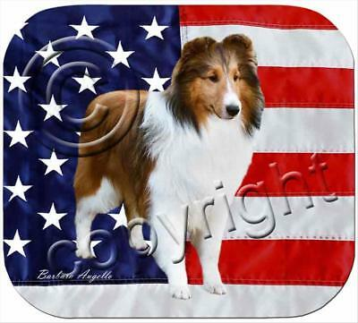 Sheltie Sable Dog Computer MOUSE PAD Mousepad
