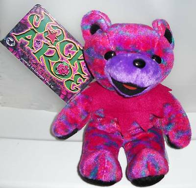 Grateful Dead Bean Bear Jack A Roe Tour Memory 1989 With Tag.  New.