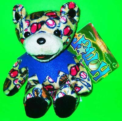 Grateful Dead Bean Bear Homer Tour Memory Birthday  1993 With Tag.