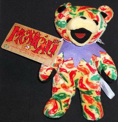 Grateful Dead Bean Bear Mexicali Tour Memory 1971 With Tag.  New.