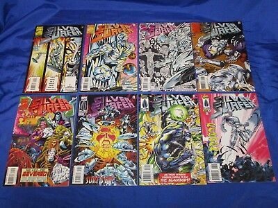 Silver Surfer (1987) #111-125 1st Prints Complete Run George Perez NM- to NM