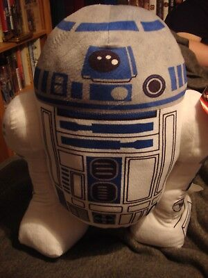 "Star Wars R2D2 18"" Stuffed Plush Animal Pillow Toy New with Tag"