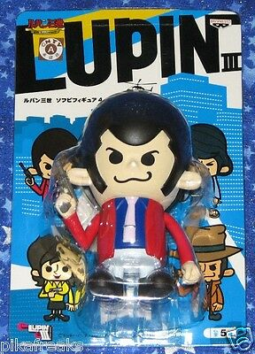 Lupin the Third Action Figure by Banpresto and Panson Works of Japan USA Seller
