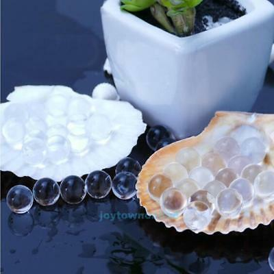 10000pcs Jelly Crystal Plant Flower Soil Mud Water Pearls Gel Beads Growing Ball