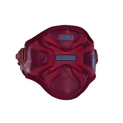 ION Trapez Surf Waist Harness Jade wine red/bright blue 2018