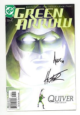 Green Arrow (2001) #7 Signed Phil Hester & Ande Parks 1st Print Kevin Smith NM-