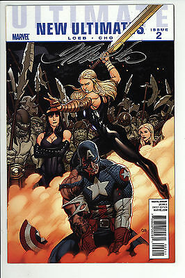 Ultimate New Ultimates (2010) #2 Signed by Frank Cho With no COA First Print VF-