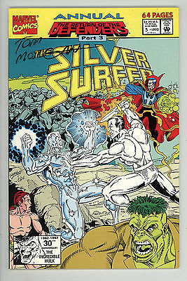 Silver Surfer (1987) Annual #5 Signed by Tom Morgan no COA First Print NM-