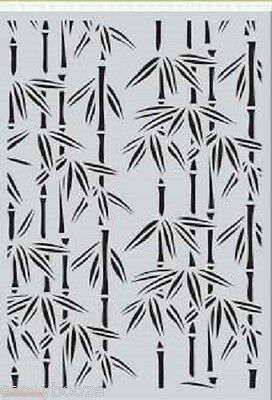 A5 Mask - Bamboo - Stencil - Embossing - 1082 - New In