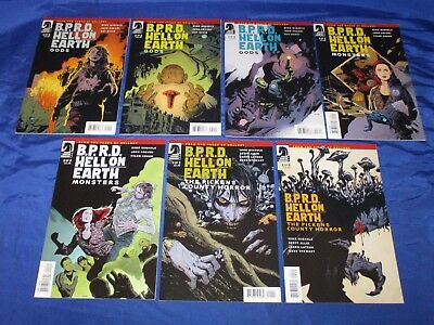 BPRD Hell On Earth Monsters #1-2 Gods 1-3 Pickens County Horror 1-2 (2011-12) NM