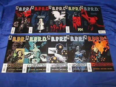 BPRD Garden Of Souls (2007) #1-5 and 1946 (2008) #1-5 Mignola 2 Full Sets FN VF+