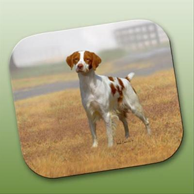 Brittany Spaniel Dog Computer MOUSE PAD Mousepad