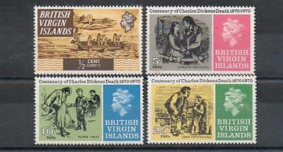 STAMPS BRITISH VIRGIN ISLANDS 1970s SELECTION OF STAMPS (MNH)  lot A100
