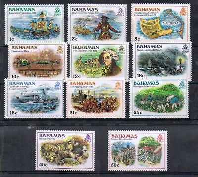 STAMPS BAHAMAS 1988 Defin. Set  1c to 50c (15c missing) (MNH)  lot A101