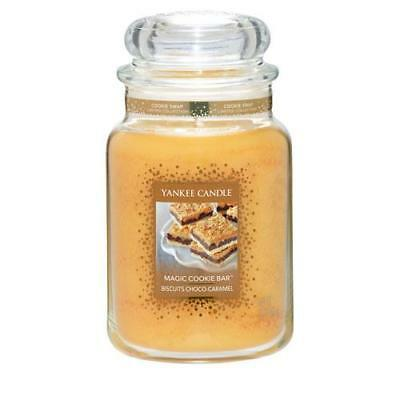 Yankee Candle Magic Cookie Bar Large Jar FREE P&P
