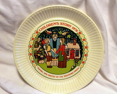 Wedgwood 1976 Childrens Story Collector Plate Hansel & Gretel Wedgewood