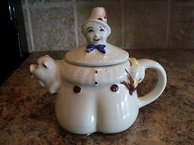 Vintage Shawnee TOM THE PIPER'S SON Teapot