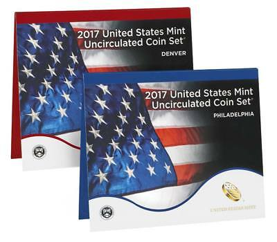 2017 United States Mint Uncirculated Coin Set (17RJ)
