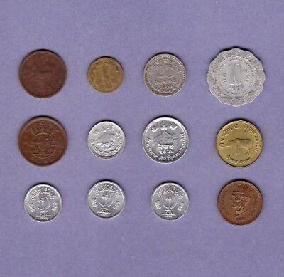 India, Macao, Nepal & Pakistan - Coin Collection Lot - World/foreign/Asia