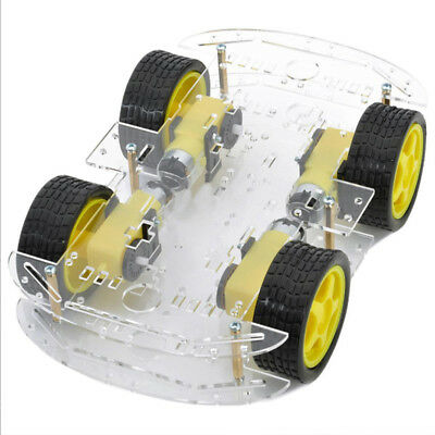 4WD Magneto Speed Encoder Smart Robot Car Chassis DIY Kits For Arduino 51
