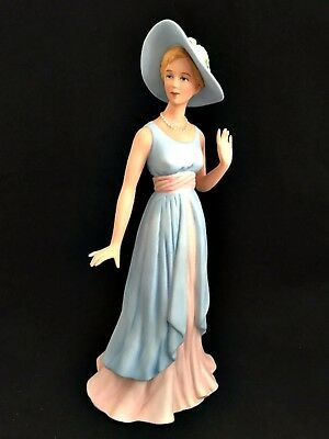 Home Interiors & Gifts Figurine Camille 2003 Porcelain 14039 HOMCO 9 inches Tall