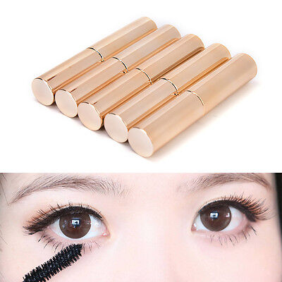 1x 8ml Gold Empty Mascara Tube Eyelash Cream Vial/Liquid Bottle/Container DSUK