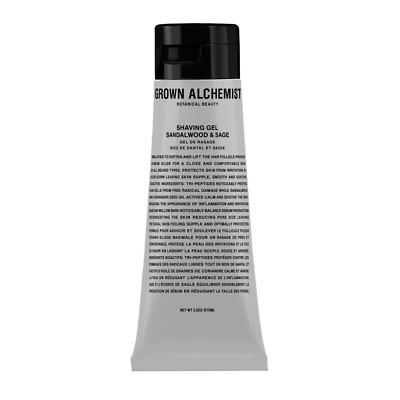 AU Men Grown Alchemist Shave Gel Sandalwood & Sage 75ml No Box RRP $35 online