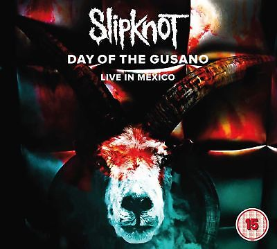 SLIPKNOT 'DAY OF THE GUSANO : LIVE IN MEXICO' 3 x VINYL LP + DVD (20th Oct 2017)