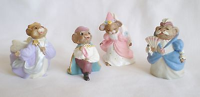 Hallmark Merry Miniatures Cinderella Set of Four Figures