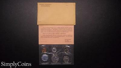 1962 Proof Set ~ Original Envelope With COA ~ US Mint Silver Coin Lot SKU-522